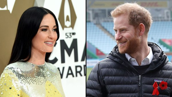Kacey Musgraves Recalls Backlash From Giving Prince Harry a High-Five