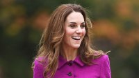 Kate Middleton Magenta Dress November 15, 2019