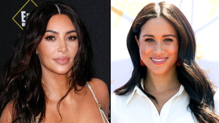 Kim Kardashian Empathizes With Prince Harry and Duchess Meghan