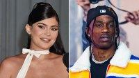 Kylie Jenner Joins Travis Scott at His Astroworld Festival in Houston