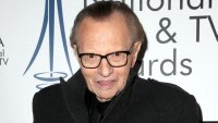Larry King Reveals He Was in a Coma After Suffering a Stroke, Hopes to Be 'Walking by Christmas'