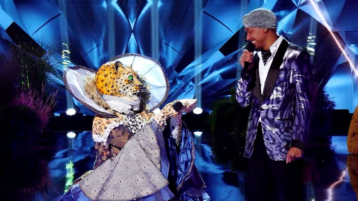 leopard on masked singer