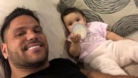 Ronnie Ortiz-Magro and Daughter
