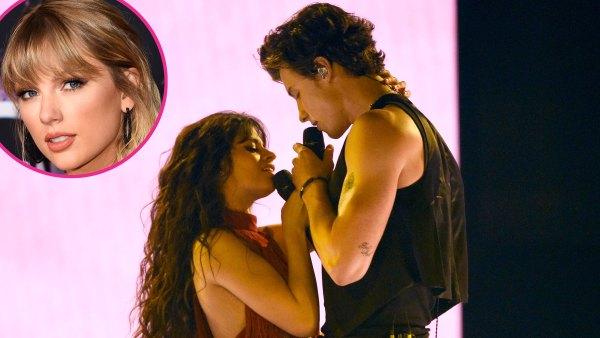 Shawn Mendes Camila Cabello Sizzle Onstage With Senorita AMAs 2019