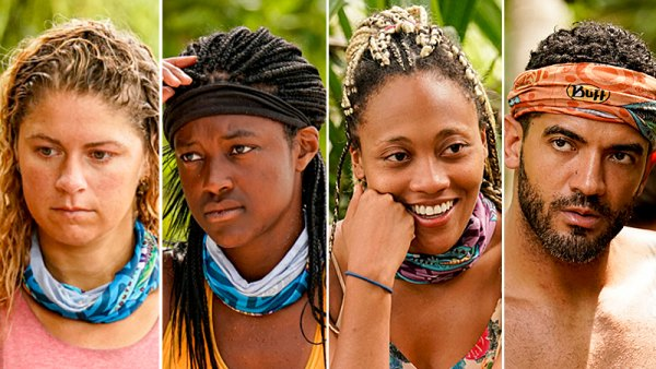 Survivor's Elizabeth Beisel, Missy Byrd, Lauren Beck and Aaron Meredith