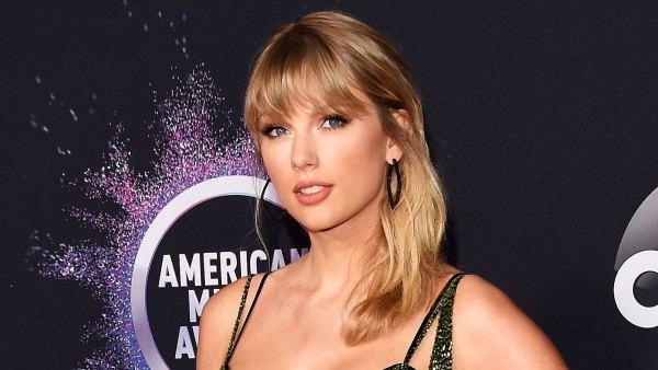 Taylor Swift Shimmers in Julien McDonald AMAs 2019