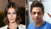 Kaia Gerber Buys a Confetti Cake for Pete Davidson's 26th Birthday