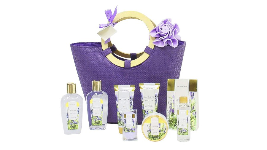 Spa Luxetique 10-Piece Spa Gift Basket