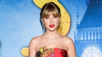 Taylor Swift Floral Gown December 16, 2019