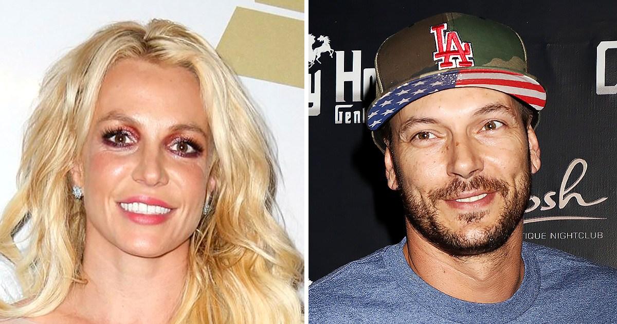 """Britney Spears Kevin Federline custody cordial - بريتني سبيرز ، السابقين كيفين فيدرلاين """"ليس لدي الكثير من العلاقة"""""""