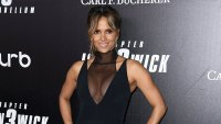 Halle Berry Red Carpet John Wick 3 Wearing Cushnie