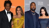 Jay-Z, Kanye West, Beyonce and Kim Kardashian Reunite at Diddy's 50th Birthday Party