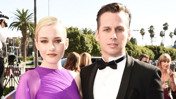 Julia Garner and Mark Foster