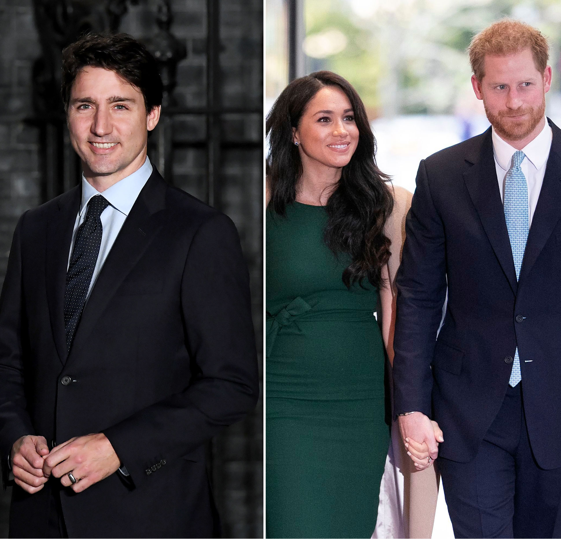 Justin Trudeau Welcomes Prince Harry, Duchess Meghan to Canada