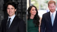 Justin Trudeau Offers Well Wishes to Prince Harry and Duchess Meghan Amid Trip to Canada