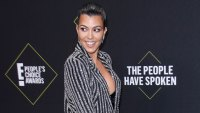Kourtney Kardashian 45th Annual People's Choice Awards Wearing Naeem Khan