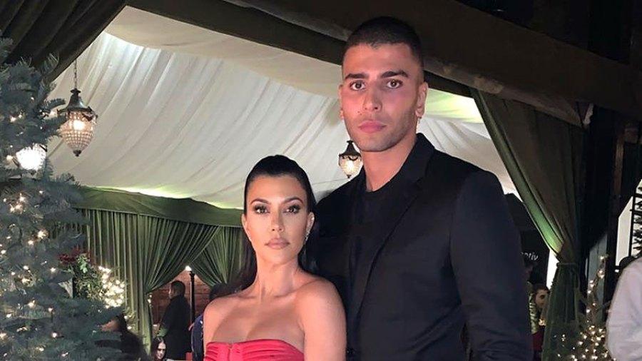Kourtney Kardashian Posts Photo With Younes Bendjima From Family Christmas Party