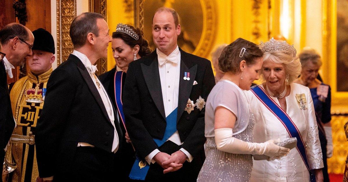 Prince William Diplomatic Reception - الأمير وليام ، دوقة كيت تتطلعان إلى حفل استقبال دبلوماسي