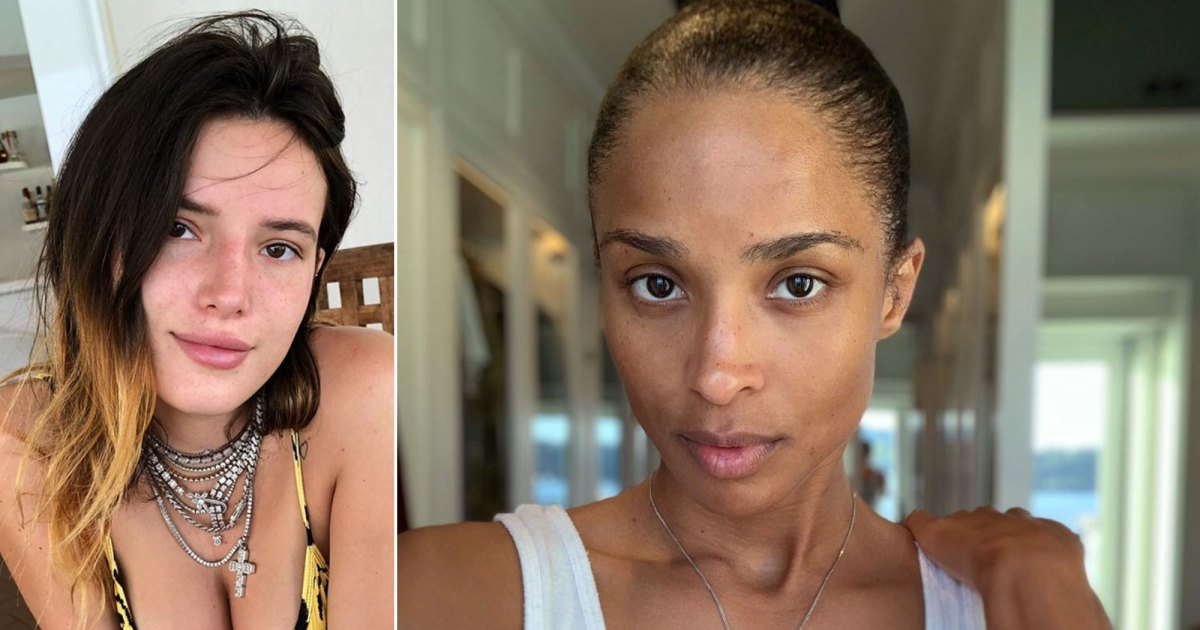 See the Latest Stars Who Have Joined the No-Makeup Selfie Crew