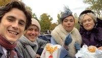 Timothée Chalamet Shares Behind-the-Scenes Snaps of Meryl Streep's Wendy's Fries Delivery