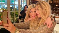 Tori Spelling Celebrates Holidays With Dean McDermott's Ex-Wife Mary Jo Eustace