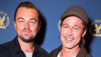 Brad Pitt Leonardo DiCaprio Best Hollywood Bromances