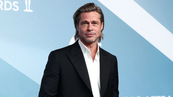 Brad Pitt Says He'll Celebrate Awards Show Season With His Kids