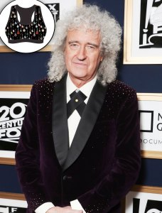 Brian May of Queen Designs Guitar Sports Bras