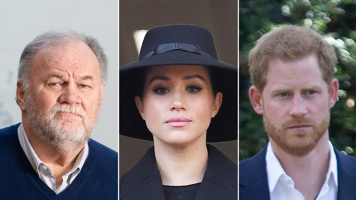 Duchess Meghan's Father Thomas Markle Says She and Prince Harry Are 'Destroying' Royal Family Amid Step Down