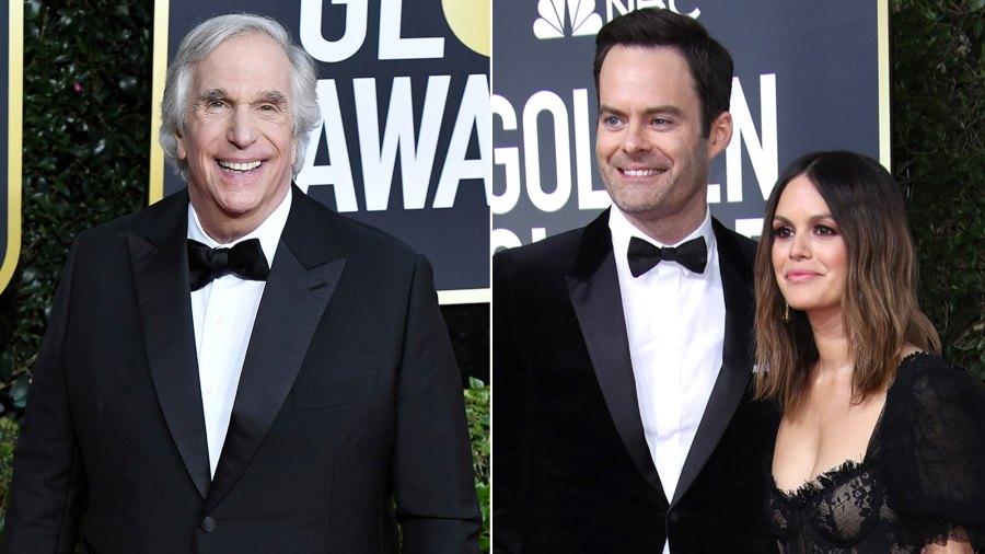 Golden Globes 2020: Henry Winkler Spills on Bill Hader's GF Rachel Bilson