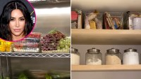 Inside-Kim-Karashian-kitchen-fridge-pantry
