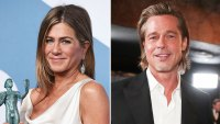 Jennifer Aniston Says Ex Brad Pitt Is More Than Welcome to Join The Morning Show Cast at SAG Awards 2020