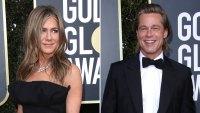 Jennifer Aniston and Brad Pitt Netflix Golden Globes 2020