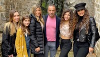 Joe Giudice and Family Italy