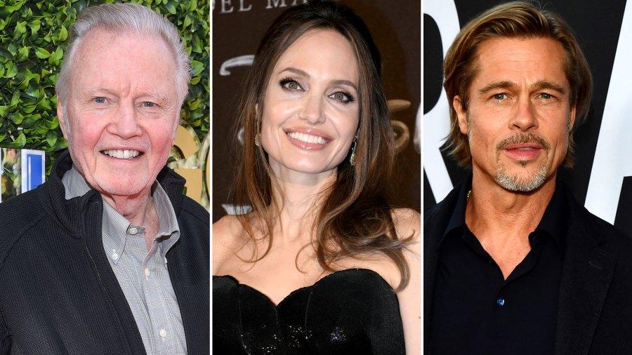 Jon Voight Praises Angelina Jolie and Brad Pitt Ahead of Golden Globes 2020