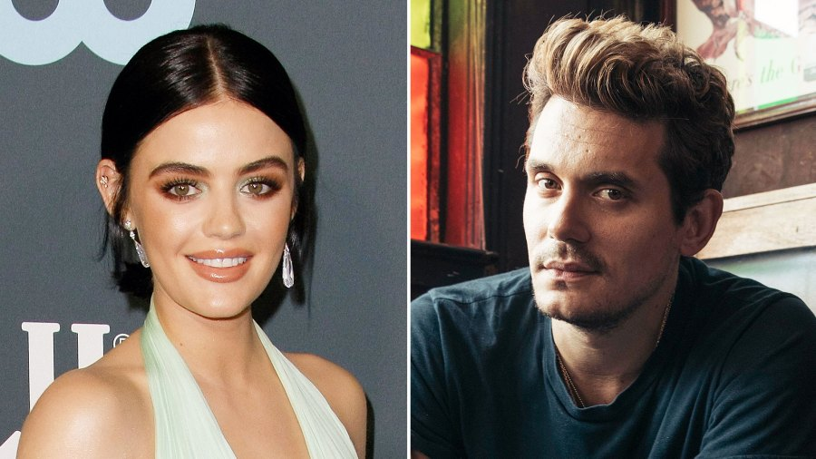 Lucy Hale Once Tried to Match With John Mayer on a Dating App