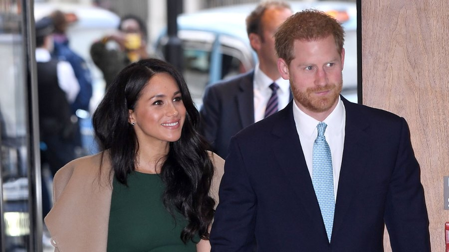 Meghan Duchess of Sussex and Prince Harry WellChild Awards