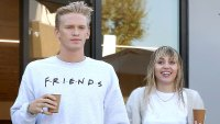 Miley Cyrus Cody Simpson Have a Couples Gym Session