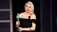 Pregnant Michelle Williams Thanks Fiance After Big SAGs Win