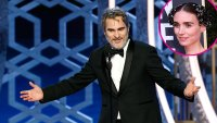 Joaquin Phoenix, Rooney Mara Award Show Golden Globes 2020