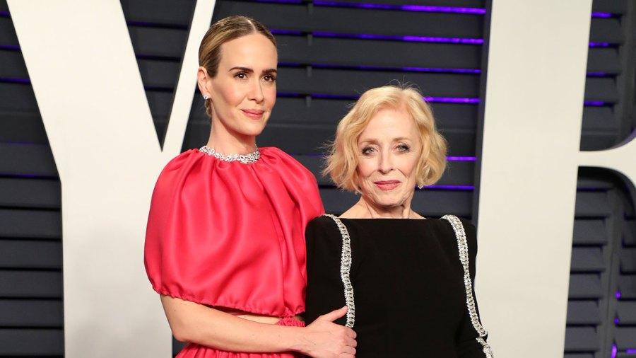 Sarah Paulson and Holland Taylor Vanity Fair Oscar Party