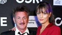 Sean Penn GF Leila George, 27, Looked in Love Benefit Gala