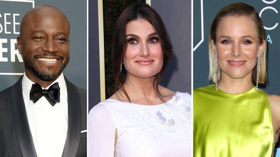 Taye Diggs, Idina Menzel, Kristen Bell Critic's Choice Awards 2020