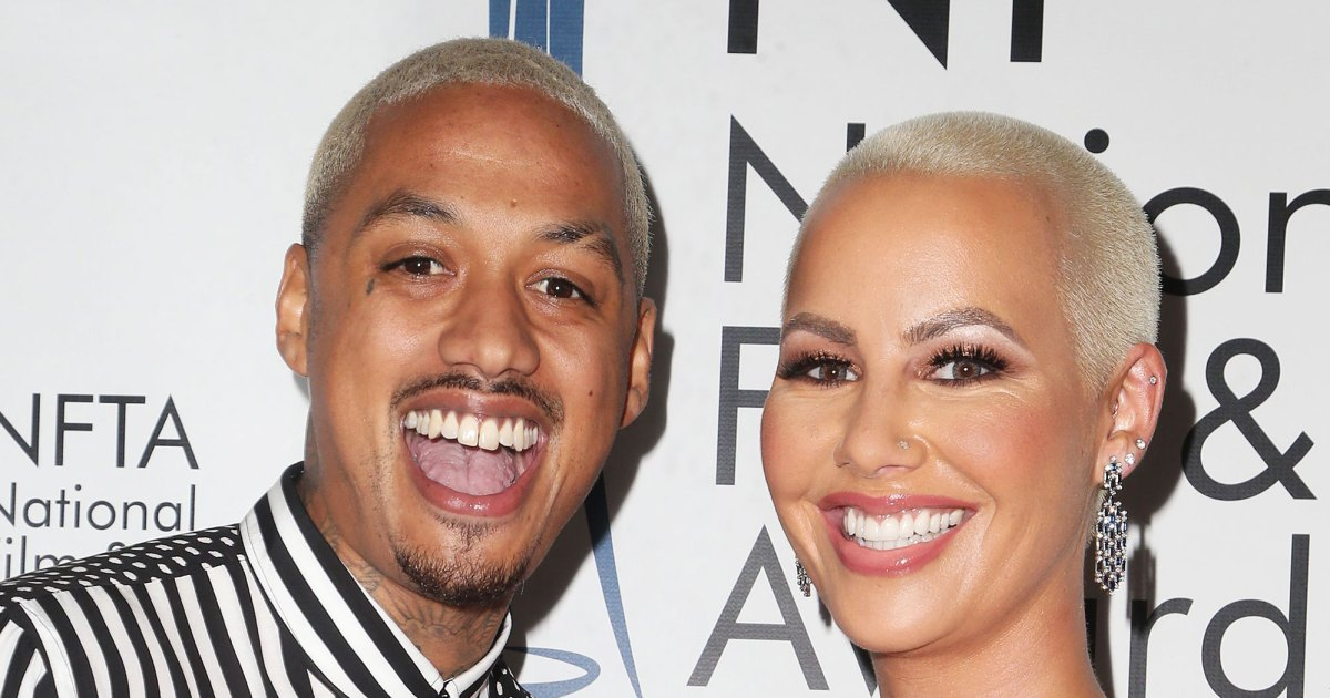 Amber Rose's Boyfriend Got a Matching Face Tattoo: See the Pic