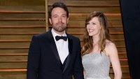 Ben Affleck Thanks Jennifer Garner in Sweet Public Note 2014 Vanity Fair Oscar Party