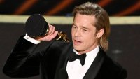 Brad Pitt Says He Put Some Real Work Into His Awards Show Speeches