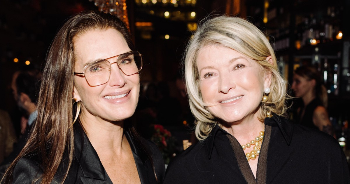 Brooke Shields and Martha Stewart Enjoyed Dinner Together in NYC