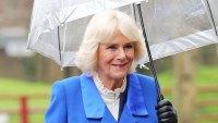 Duchess Camilla Royal Blue Coat February 19, 2020
