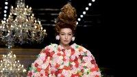 Florals Gigi Hadid Gallery Runway