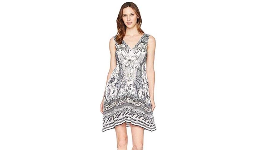Hale Bob Women's Simply Irresistible Stretch Satin Tank Dress